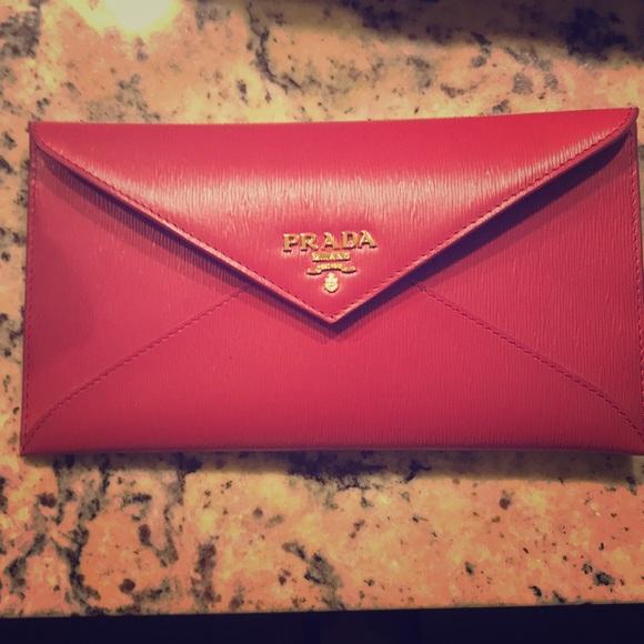 357283a39c4620 Prada Bags | Envelope Wallet | Poshmark